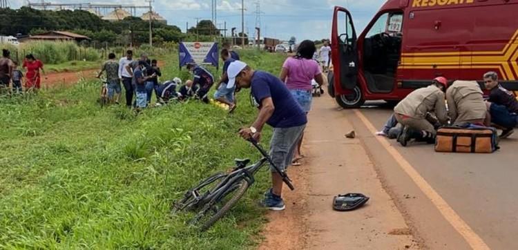 Duas pessoas morrem em acidente entre motos em MT